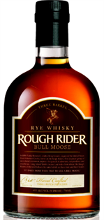 Rough Rider Rye Whisky Three Barrel Bull Moose 750ml